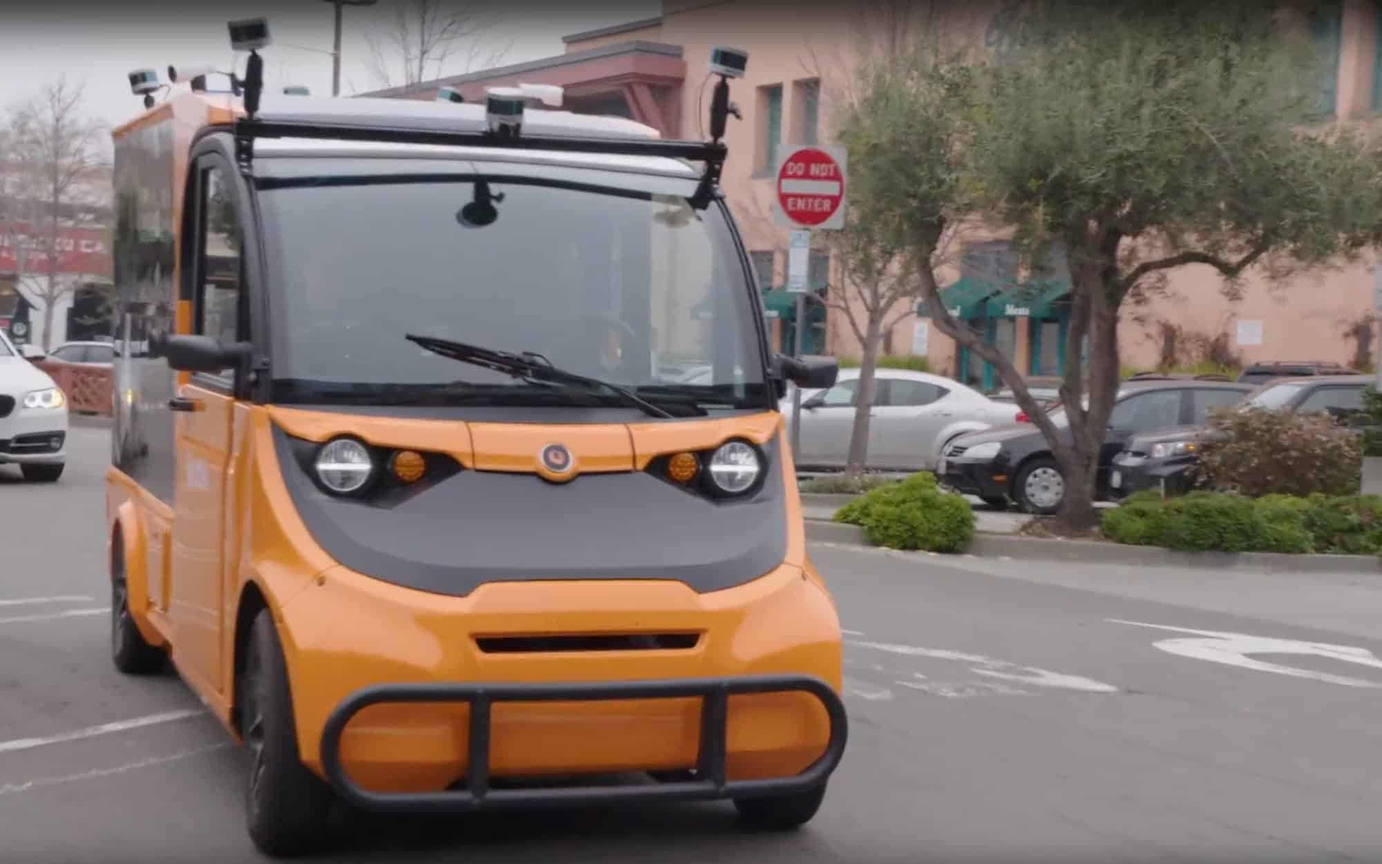 World's largest driverless grocery delivery signed up